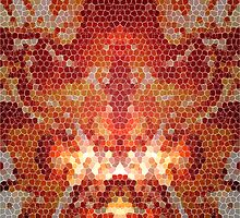 Flame Mosaic II by Joey Kuipers