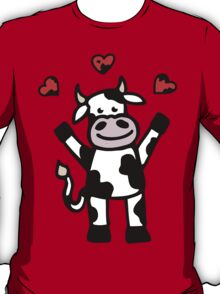 The Cow is in Love T-Shirt