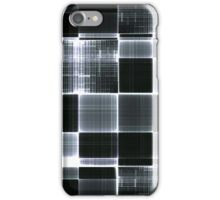 Grey black and White iPhone Case/Skin