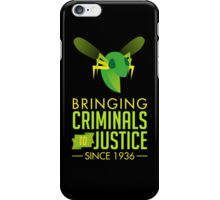 The Green Bee iPhone Case/Skin