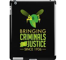 The Green Bee iPad Case/Skin