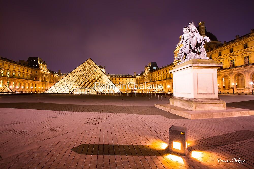 Louvre museum V by RomainChalaye