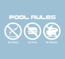 Pool Rules Kids Clothes