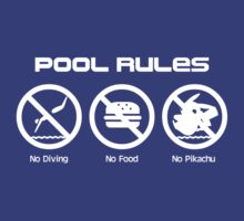 Pool Rules by Rodrigo Marckezini