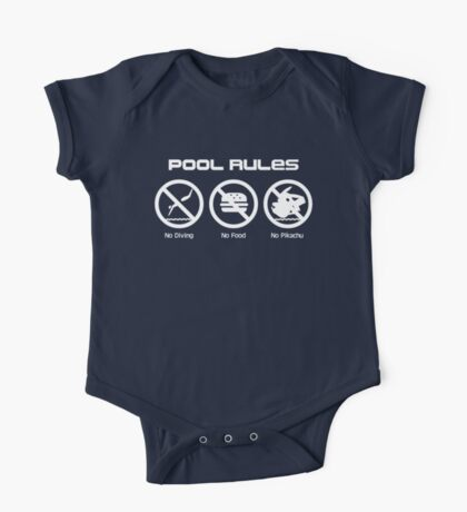 Pool Rules One Piece - Short Sleeve