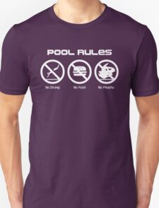 Pool Rules Unisex T-Shirt