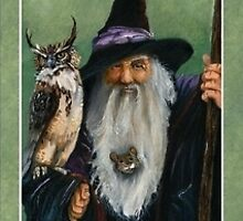 Endor the Wizard  by JRGarland
