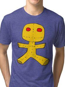 Cursed Voodoo Doll Tri-blend T-Shirt
