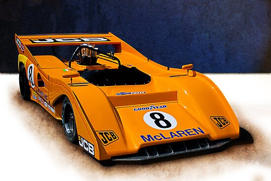 Can-Am McLaren M8F by Stuart Row