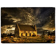 Church of the Good Shepherd - Lake Tekapo Photographic Print