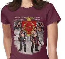 Hunter Girls Conquer Rome Womens Fitted T-Shirt