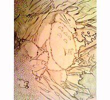 Sleeping Totoro by Louise Harrington