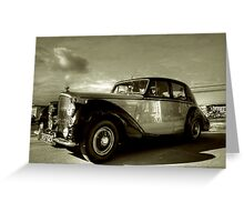1952 Bentley R Type  Greeting Card