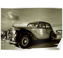1952 Bentley R Type  Poster