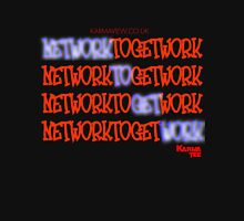 NETWORK TO GET WORK Womens Fitted T-Shirt