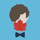 Leaf Licking Doctor Who? by eatorcs