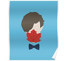 Leaf Licking Doctor Who? Poster