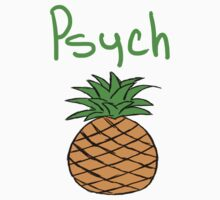 Psych Pineapple by Asella