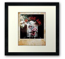 The Oink Master Framed Print
