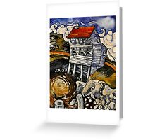 Wreckhouse Winds Greeting Card