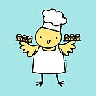 Little Bird Cupcake Chef by zoel