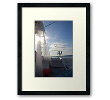 Sun-Dried Framed Print