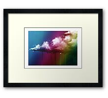 Surreal Cloud Framed Print