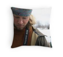 Puzzle - Side Lighting  Throw Pillow