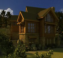 Canadian Dream home by TheDigitalWoods
