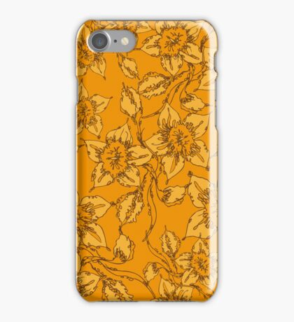 Scribble Daffodil iPhone Case/Skin