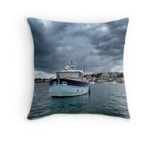There's a Storm Coming Throw Pillow