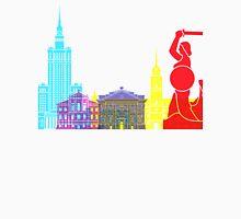 Warsaw skyline pop Unisex T-Shirt