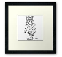The King of all Wild Things Framed Print