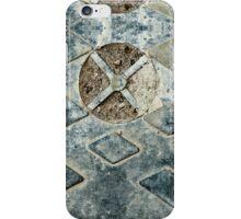 A Grimey Manhole Cover iPhone Case/Skin