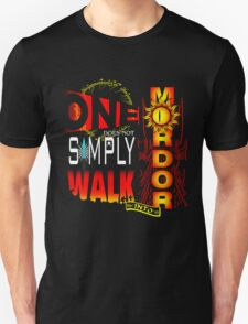 One Does Not Simply Walk Into Mordor T-Shirt