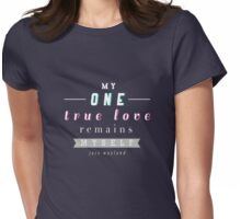 "The Mortal Instruments: ""My one true love"" Womens Fitted T-Shirt"