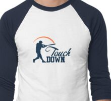 Touch Down Men's Baseball ¾ T-Shirt