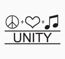 Peace Love Music Unity by gleviosa