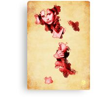 Buffy blood poster Canvas Print