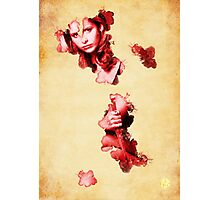 Buffy blood poster Photographic Print
