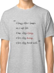 thirty white horses Classic T-Shirt