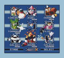 Megaman 9 Bosses Kids Clothes
