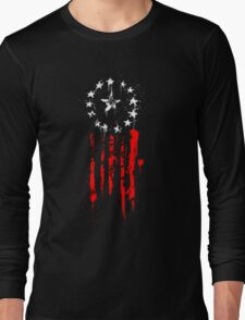Old World Flag Long Sleeve T-Shirt