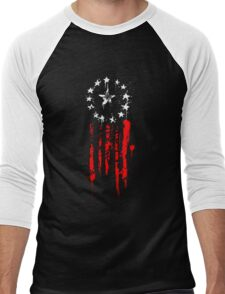 Old World Flag Men's Baseball ¾ T-Shirt