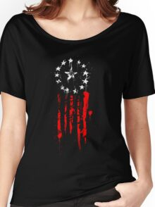 Old World Flag Women's Relaxed Fit T-Shirt