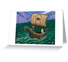To the Sea we go... Greeting Card