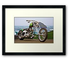 Seaside Chopper Framed Print