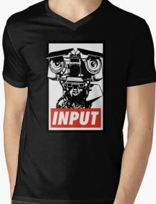 Obey Johnny 5 Mens V-Neck T-Shirt