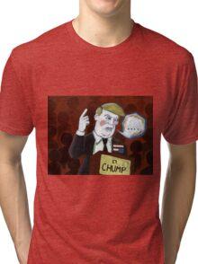 Donald Chump Tri-blend T-Shirt