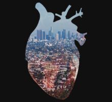 Heart of the City One Piece - Short Sleeve